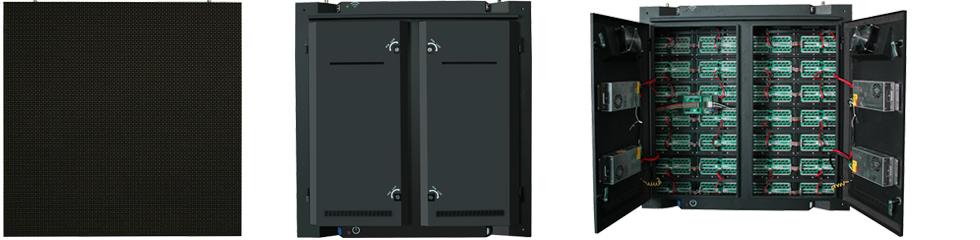 Cabinets pantalla led exterior